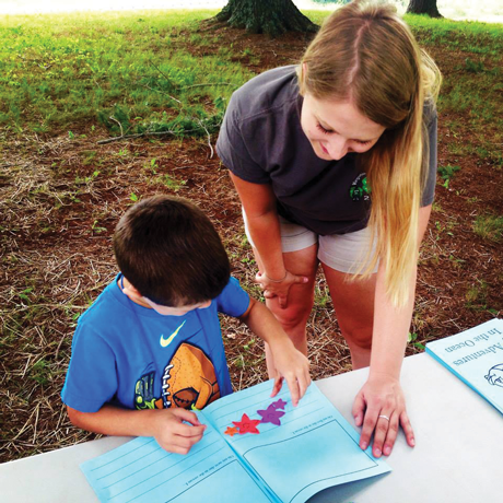Aldyn Abell, a 2015 Extension intern, spent her summer at the Extension office in Orange County. Among her numerous responsibilities, she helped plan and deliver ocean-themed lessons at 4-H Cloverbud Day Camp.