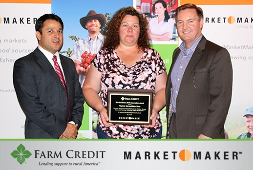 (From left to right: Dr. Marco Palma, Associate Professor and Extension Economist, Texas A&M University, Dr. Kimberly Morgan, Assistant Professors, Extension Economist and Kohl Centre Junior Faculty Fellow, Virginia Tech, and Mr. Stan Ray, Chief Administrative Officer, Farm Credit Bank of Texas)