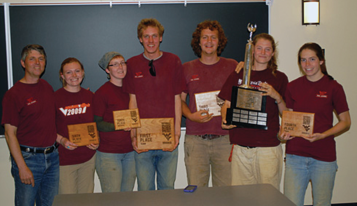 Soil Judging Team digs into first place