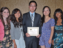 Nutritional supplement  earns Food Science and Technology Team second place