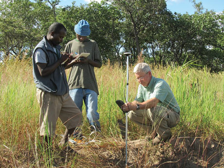 Conrad Heatwole, associate professor of biological systems engineering, is studying how poor farming practices are harming forests near one of Africa's last unspoiled national parks.
