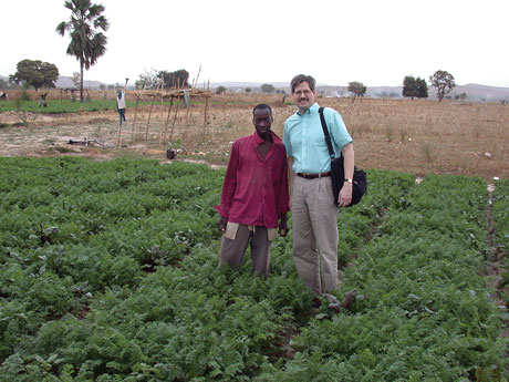 Jim Westwood, professor of plant pathology, physiology, and weed science, is conducting research on parasitic plants in Africa and the Middle East.