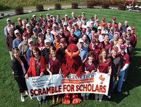 The CALS Alumni Organization annual golf tournament raises money for scholarships and endowments that allow students like Olivia Brooks to enrich their academic experiences.