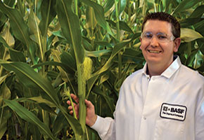 Chad Benton completed a master's degree in the Online Master of Agricultural and Life Sciences Program while working and raising a family.