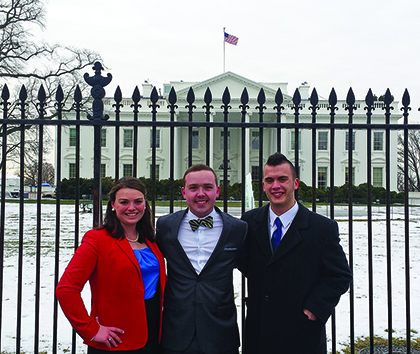 Three college students selected as Truman Scholar finalists
