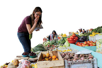 Local markets around Ecuador highlight the vital role that agriculture plays in the country's economy and culture.