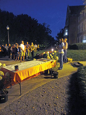 Riley was such a well-liked and respected teacher and mentor that students at the University of Tennessee held a candlelight vigil after his passing.