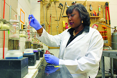 The George Washington Carver Program helps Shavvon Whiten achieve her goal of earning a Ph.D.