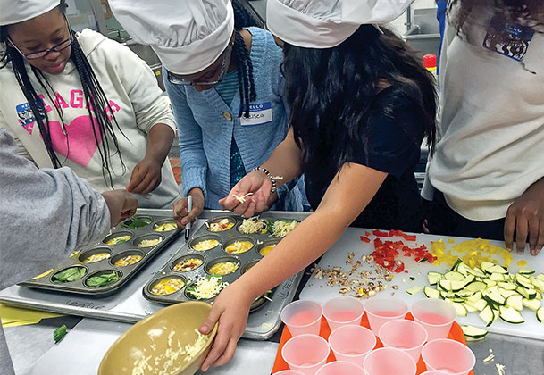 Teen Cuisine spices up nutrition education for Virginia students