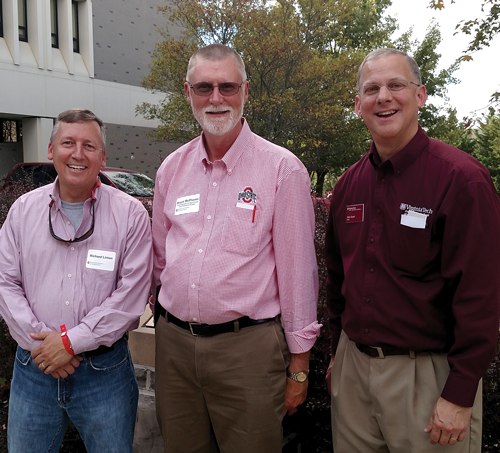 Three deans of agricultural colleges.