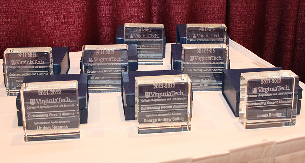 2012 Outstanding Recent Alumni Awards