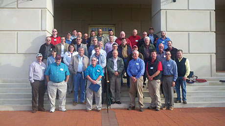 Group Photo from VT-NCSU Superintendent Meeting