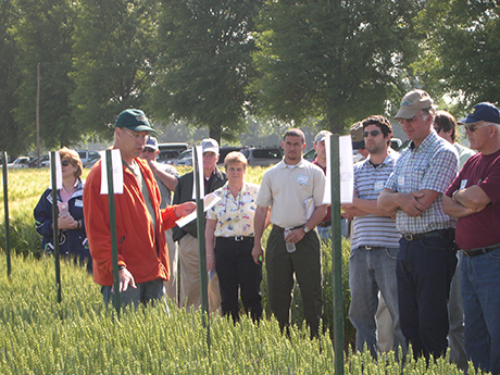 Eastern Virginia AREC field day tour