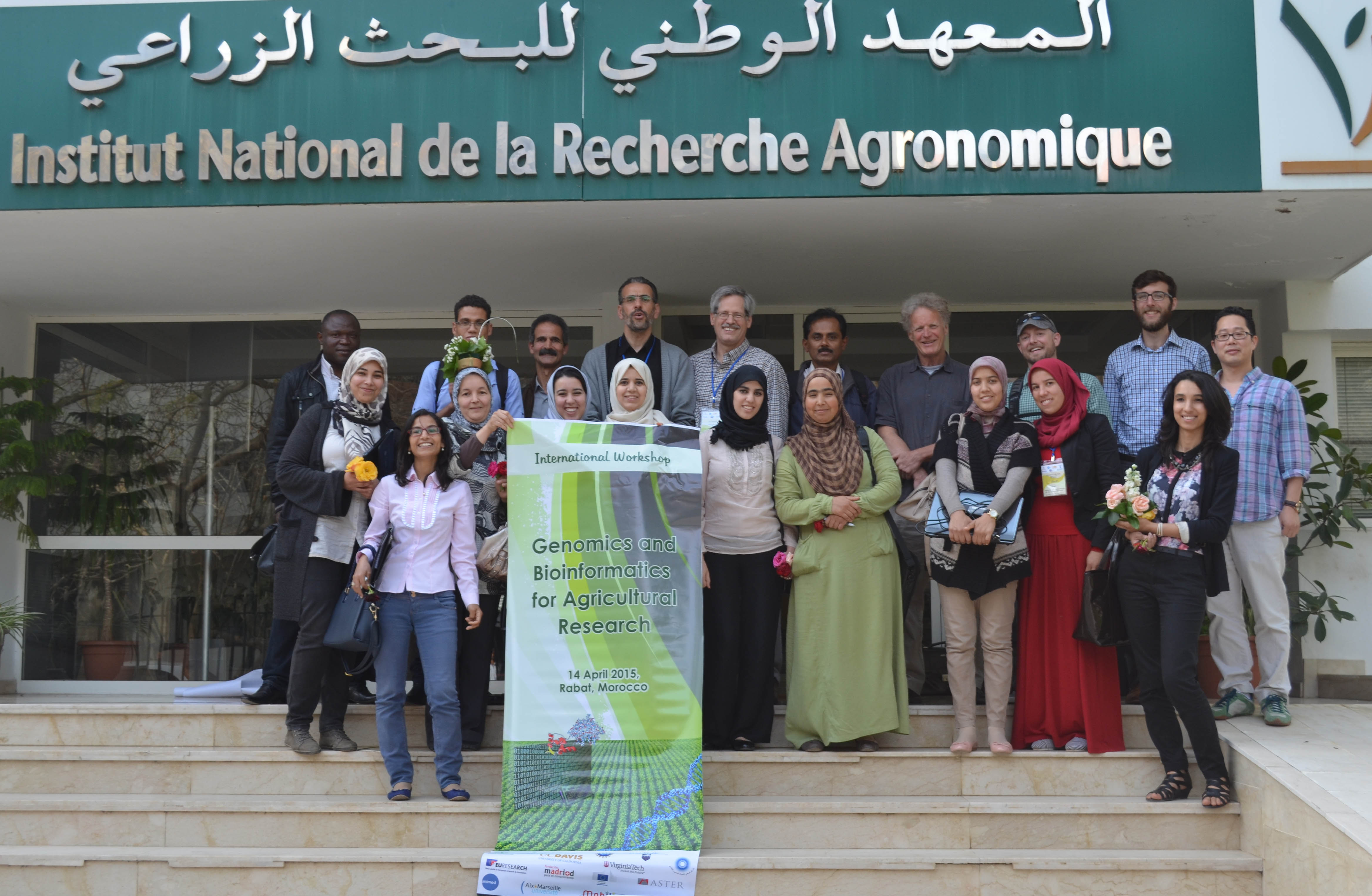 Group of Morocco workshop participants.