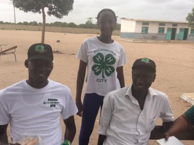 Activities during the launching of the 4-H program at Toubacouta, March 2015.