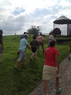 VALOR fellows trek across rich Wytheville pasture and farmland with dairy farmer describing success in the new wedding tourism market, but the lingering challenge of finding and retaining skilled labor.