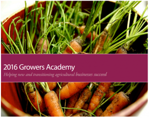 Growers Academy 2016 Picture